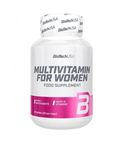 Multivitamin for Women BioTech 60buc