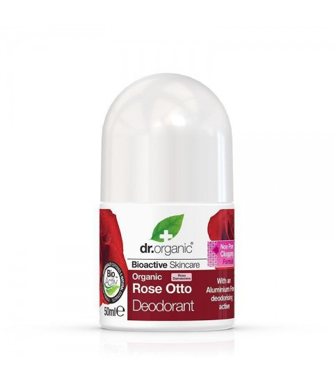 Deo roll Bio Trandafiri Dr.Organic 50ml