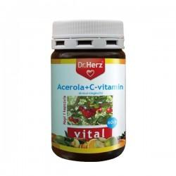 Acerola plus Vitamina C Dr.Herz 60 capsule