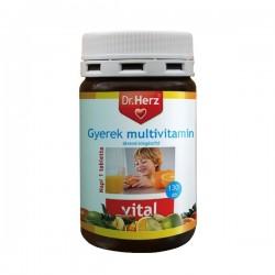 Multivitamin complex pentru copii Dr.Herz 130 capsule