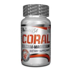 Coral Calciu Magneziu BioTech 100tab