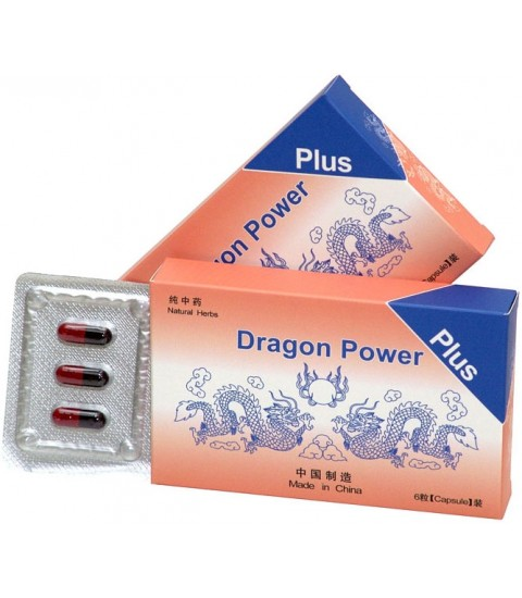 capsule marire potenta dragon power plus 6 capsule