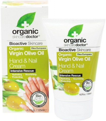 Crema maini si unghii Bio Ulei Masline Dr.Organic 125ml