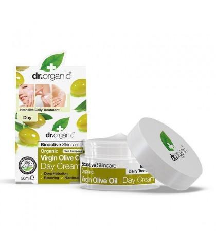Crema de zi Bio Ulei Masline Dr.Organic 50ml