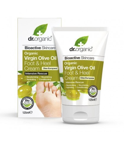 Crema calcaie Bio Ulei Masline Dr.Organic 125ml