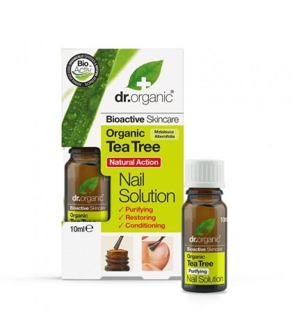 Solutie Antifungica unghii Bio Extract de Arbore de Ceai Dr.Organic 10ml
