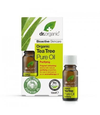 Ulei esential pur Antiseptic Bio Extract de Arbore de Ceai Dr.Organic 10ml