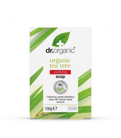 Sapun Bio Extract de Arbore de Ceai Dr.Organic 100g