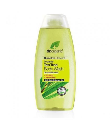 Gel de dus Bio Extract de Arbore de Ceai Dr.Organic 250ml