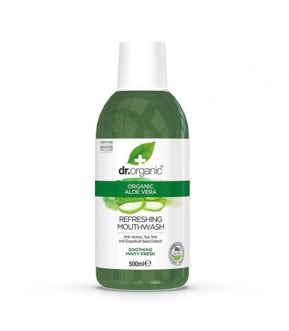 Apa de gura Bio Aloe Vera Dr.Organic 500ml