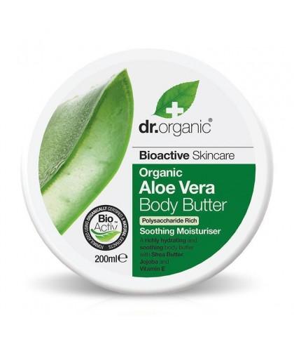 Unt de corp Bio Aloe Vera Dr.Organic 200ml