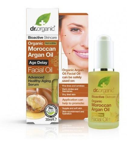 Ulei Anti-Aging Bio Argan Dr.Organic 30ml