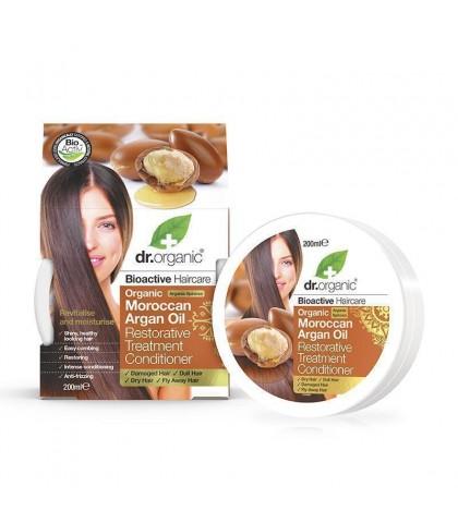 Tratament par Bio Argan Dr.Organic 200ml