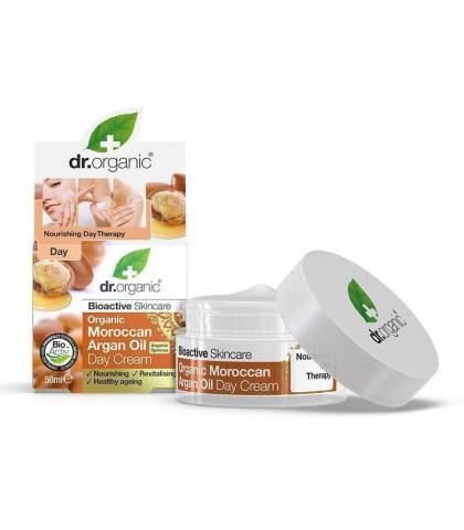 Crema de zi Bio Argan Dr.Organic 50ml