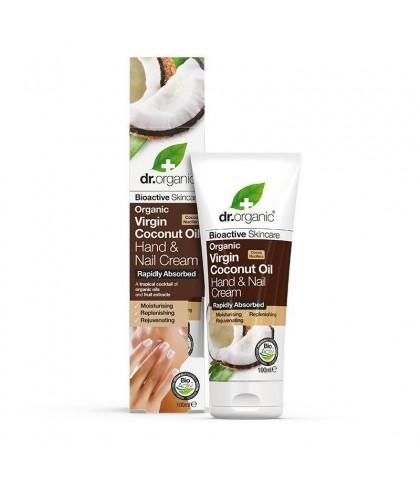 Crema maini si unghii Bio Cocos Dr.Organic 100ml