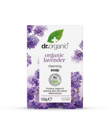 Sapun Bio Lavanda Dr.Organic 100g