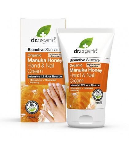 Crema maini si unghii Bio Miere Manuka Dr.Organic 125ml