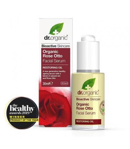 Ser Antirid Bio Trandafiri Dr.Organic 30ml