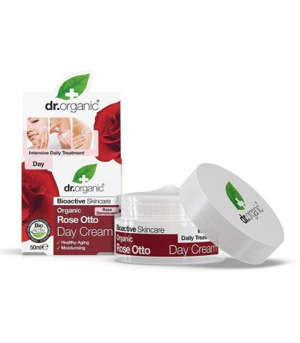 Crema de zi Bio Trandafiri Dr.Organic 50ml