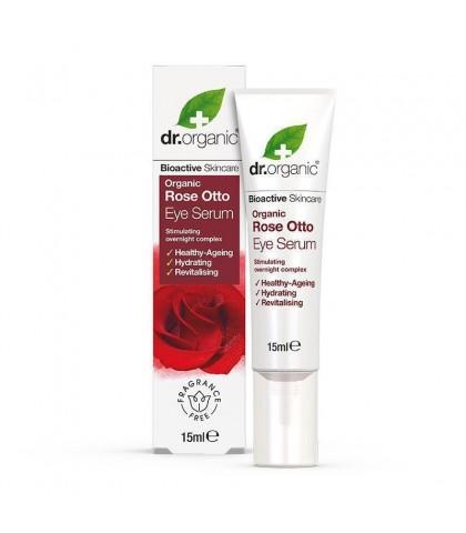 Ser Anti Aging Bio Trandafiri Dr.Organic 15ml