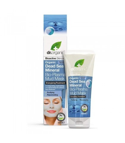 Masca cu namol Minerale de la Marea Moarta Dr.Organic 100ml