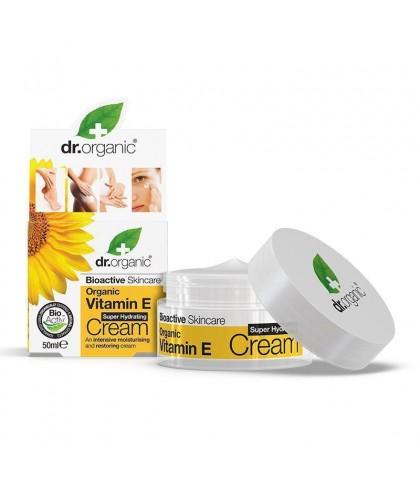 Crema hidratanta Bio Vitamina E Dr.Organic 50ml