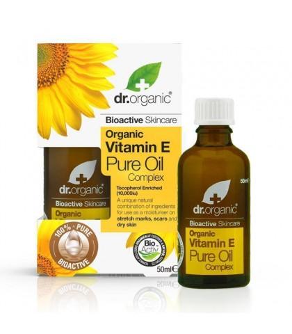Ulei corp Bio Vitamina E Dr.Organic 50ml