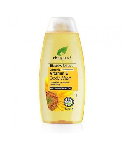 Gel de dus Bio Vitamina E Dr.Organic 250ml