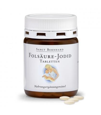 Acid folic-Jod Sanct Bernhard 240caps