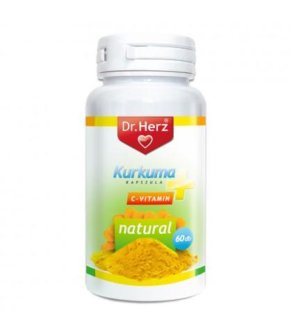 Curcuma plus Vitamina C Dr.Herz 60 capsule