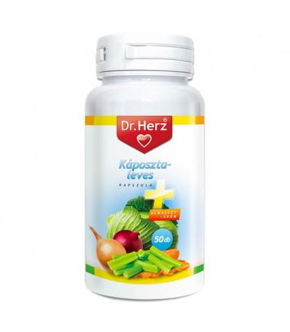 Supa de varza plus otet de mere plus Crom Dr.Herz 50 capsule