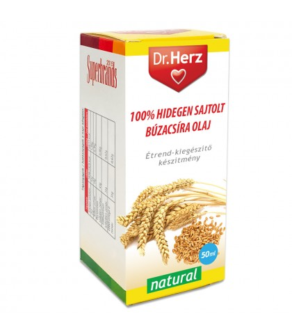 Ulei din germeni de grau presat la rece Dr.Herz 50 ml