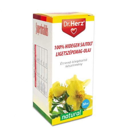 Ulei din seminte de Ciubotica Cucului presat la rece Dr.Herz 50 ml