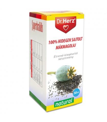 Ulei din seminte de mac presat la rece Dr.Herz 50 ml