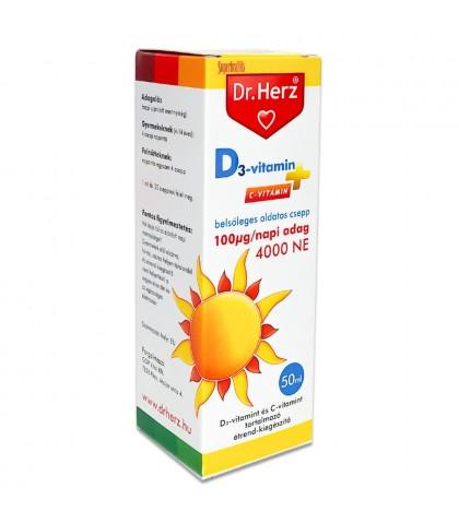 Vitamina D picaturi Dr.Herz 50 ml