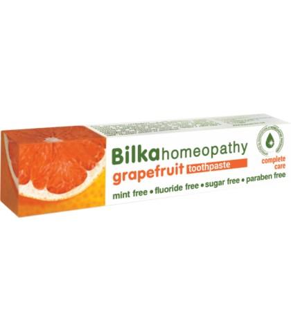 Pasta de dinti Bilka Homeopathy Grapegruit cu Xylitol 75ml