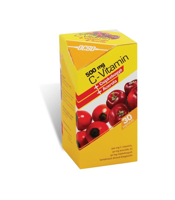 Ocso Vitamina C 500mg 30 capsule