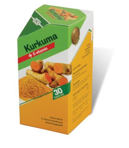 Ocso Kurkuma plus vitamina E 30 capsule