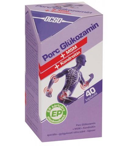 Ocso Glucozamin Articulatii 40 capsule