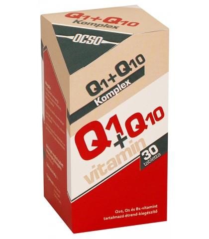 Ocso Q1 plus Q10 Vitamin Complex 30 capsule
