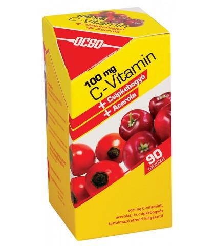 Ocso Vitamina C 100mg 90 tablete