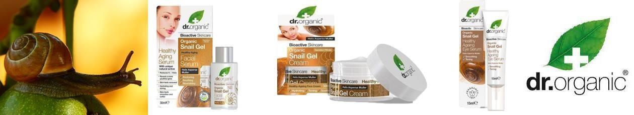 Dr.Organic Extract din mucus de melc Helix Aspersa Muller   Bioplanetshop.ro