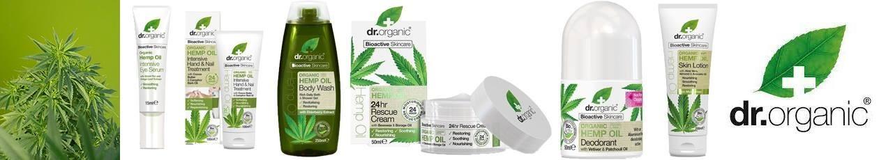 Dr.Organic Ulei de Canepa